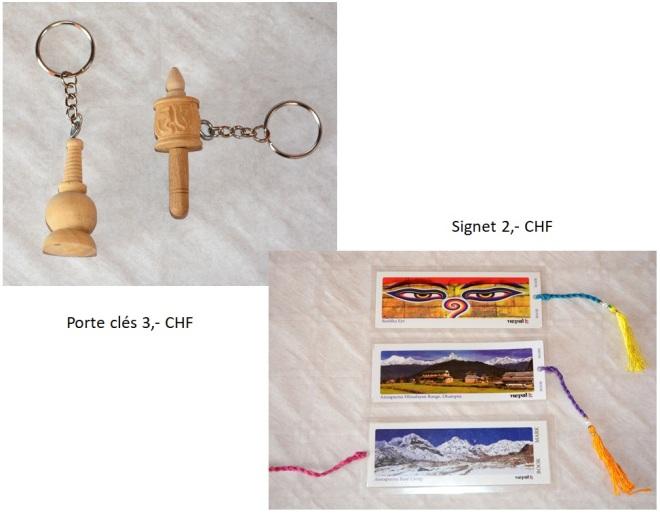 Porte clés signet